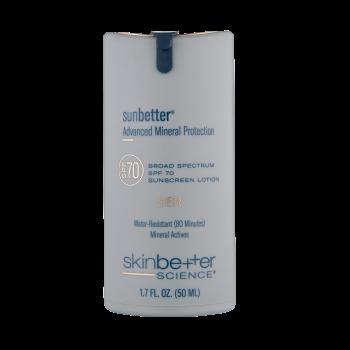 sunbetter sheer sunscreen lotion
